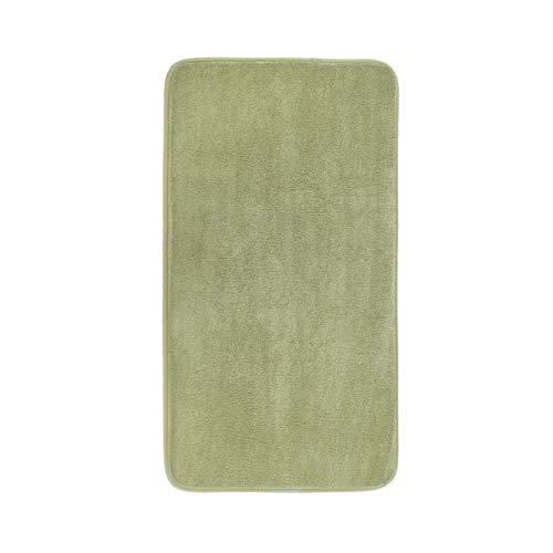 MAYSHINE Memory Foam Bathroom Rugs, Non-Slip Water Absorbent Luxury Soft Bathroom Rugs- 19x34 Inches, Sage Green (Sage Green Memory Foam Bath Mat)