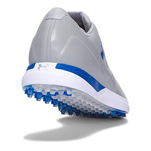 Chaussures De Golf Under Armour Performance Spikeless 1297177: Acier / Marqueur Noir / Bleu - 035: Uk 11.5