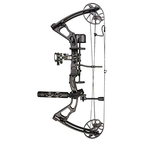 Southland Archery Supply SAS Feud 70 Lbs Compound Bow Target Field (Camo with Pro Package) (Black with Pro Package)