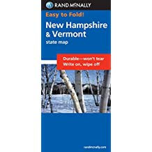 Easy Finder Map New Hampshire/Vermont