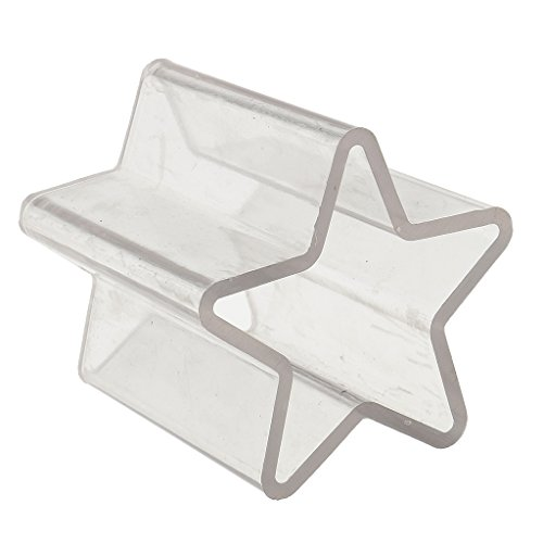 Star Shaped Plastic Candle Moulds Soap Molds for Home DIY Candle Making Crafts Accessoires