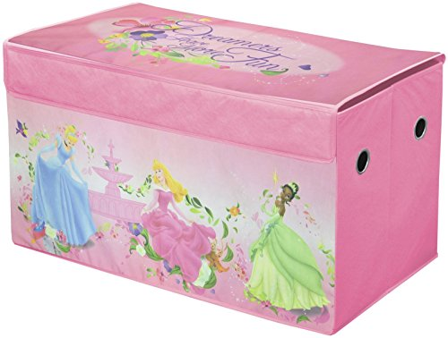 Princess Toy Chest - Disney Princess Collapsible Storage Trunk