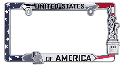 (Elektroplate USA All Metal License Plate Frame)
