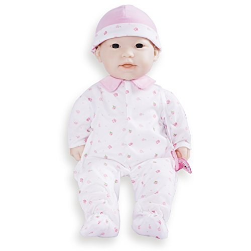 Asian Play Dolls (JC Toys, La Baby Asian 16-inch Washable Soft Body Pink Play Doll - For Children 2 Years Or Older, Designed by Berenguer)