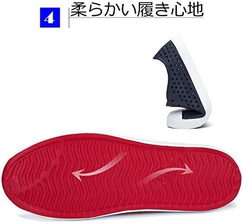 スニーカー風 サンダル メンズ レディース 超軽量 通気性 スリッポン カジュアルシューズ 22.5-29.0cm