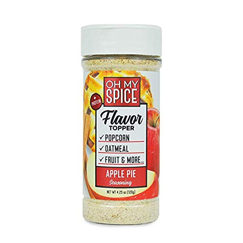 Apple Pie Low Sodium Seasoning, Kick Your New Years Resolution Off Right, Perfect for People Looking for Paleo, and Gluten-Free Seasoning for Their Meals