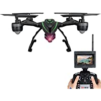 RC Drones with Camera Live view Screen on Remote Support One Return and High Hold Mode FPV Qudcopter Drone for Beginners