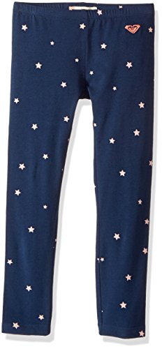 Roxy Little Girls' Interacting Lives Pant, Dress Blues Tiny Stars, 2T (Roxy Apparel)