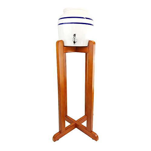enser Blue Stripe with Wooden Stand (Water Stand)