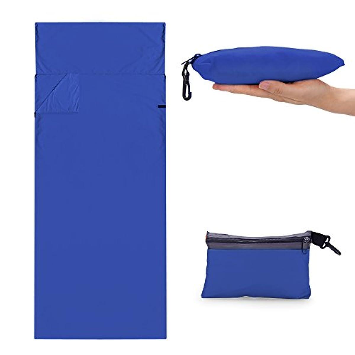 [해외] CYCLETRACK 이너침낭 침낭 세탁 가능 210*70CM 캠프 아웃도어 콤팩트 수납
