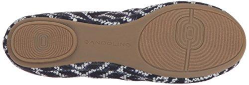 Bandolino Mujeres Edition Fabric Ballet Flat Tribal Print Blue