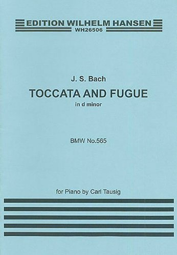 J.S.Bach: Toccata And Fugue In D Minor (Piano)