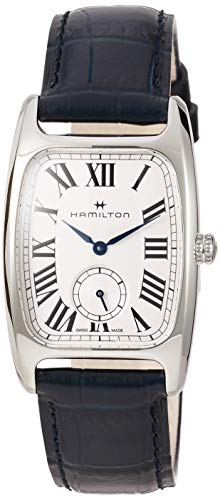 Hamilton Boulton L Silver-White Dial Ladies Leather Watch H13421611