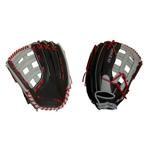 - Miken Player Series Slowpitch Softball Glove, 15 inch, Right Hand Throw