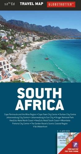 South Africa Travel Map, 12th (Globetrotter Travel Map)...