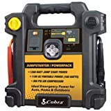 Cobra CJIC 250 300 Amp Portable Jump-Start/Air Compressor with A/C and D/C Power Outlets