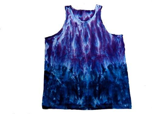 (Purple Haze Tie Dye Tank Top Shirt XXX large)