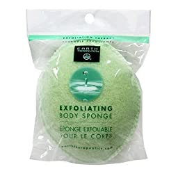 Earth Therapeutics Body Sponge, Exfoliating, 1 each (Pack of 4)