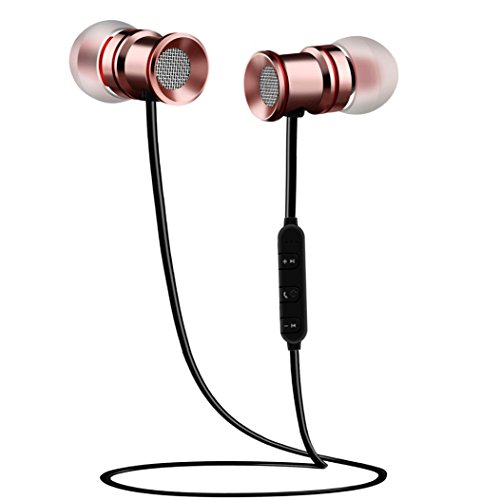 bluetooth headphones eartime wireless v4 1 magnetic in ear stereo earphones sweatproof sports. Black Bedroom Furniture Sets. Home Design Ideas