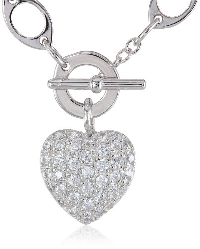 925 Sterling Silver Toggle Necklace - 7