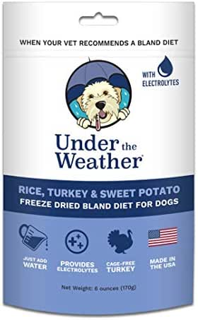 Dog Food: Under the Weather