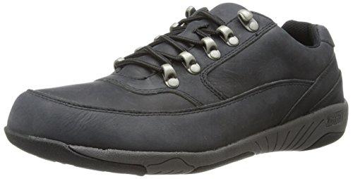 Propet Mens Miller Work Shoe Black 2Mka4A7NRe