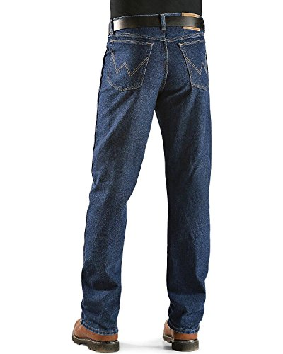 Wrangler Men's Rugged Wear Jean, Antique Navy , 34x30