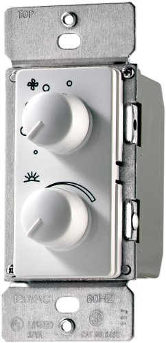 EATON RDC15-W-K Combination Switch, 1.5 A, 300 W, 1 P, White