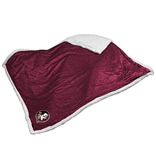 Logo Brands NCAA Florida State Sherpa Throw Blanket ()