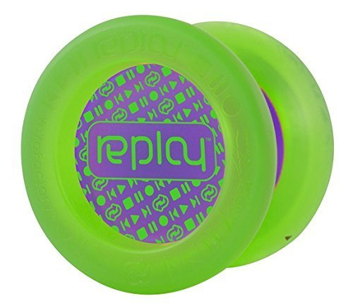 Replay Green Responsive Yo Yo Beginner Type Gentry Stein Edition From The YOYOFACTORY