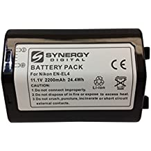 Nikon EN-EL4a Replacement Battery Lithium-Ion (2200 mAh) - Replacement for Nikon EN-EL4 Battery