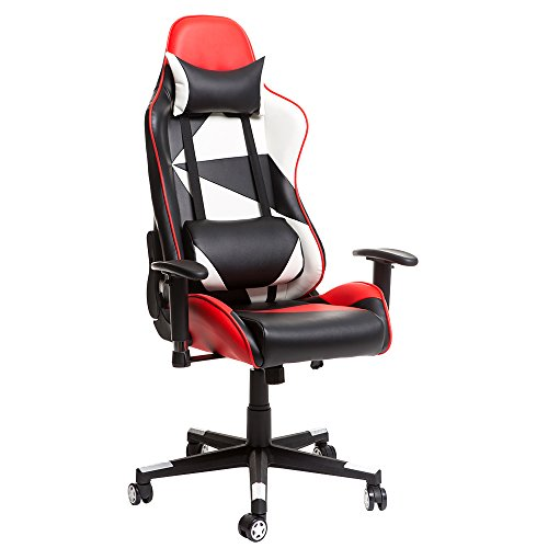Merax Racing Style Gaming Chair Adjustable Swivel Office