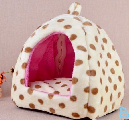 icase4u® bonita y practica camita casa cama para animal pequeño mascotas perrito y gatito,