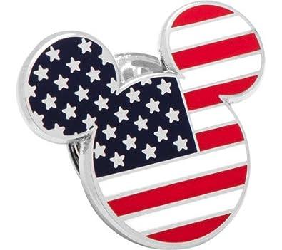 Gemelos Inc estrellas y rayas mickey mouse Pin de solapa (Multi ...