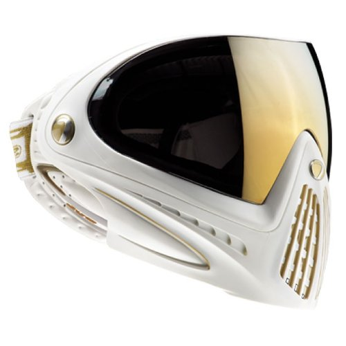 Dye Precision I4 Thermal Paintball Goggle, White Gold (Best Competition Paintball Guns)