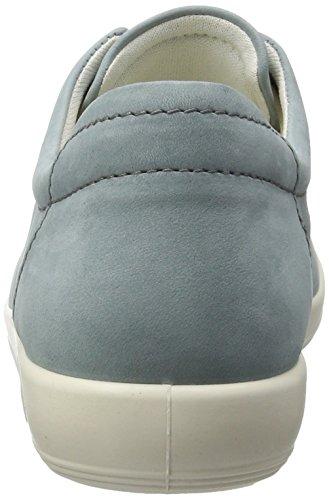 Soft Zapatos Derby 0 2287trooper Mujer Cordones 2 de para Blau Ecco awtdqa