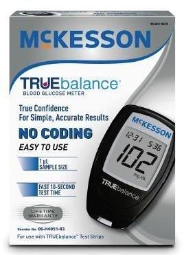 McKesson TRUEbalance Blood Glucose Meter