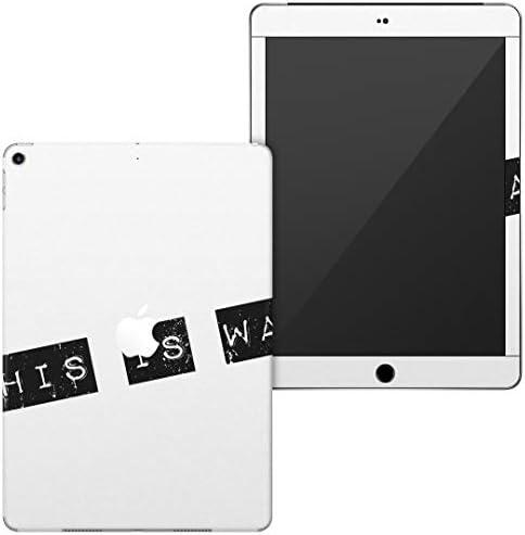 igsticker 第6世代 第5世代 iPad 9.7インチ iPad 6 / 5 2018/2017年 モデル A1893 A1954 A1822 A1823 全面スキンシール apple アップル アイパッド タブレット tablet シール ステッカー ケース 保護シール 背面 015775 英語 文字 かっこいい