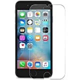 TANTEK iPhone 7 Screen Protector Bubble Free, HD-Clear, Anti-Scratch/Glare/Fingerprint, Tempered Glass for iPhone 7/6/6S - 2 Piece