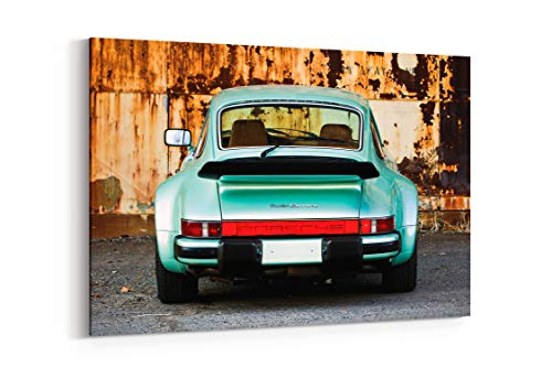 1976 Porsche Turbo 911 Carrera 930 Cars - Canvas Wall Art Gallery Wrapped 18