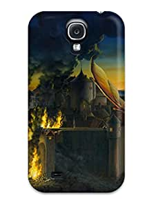 New Tpu Hard Case Premium Galaxy S4 Skin Case Cover(fantasy S)