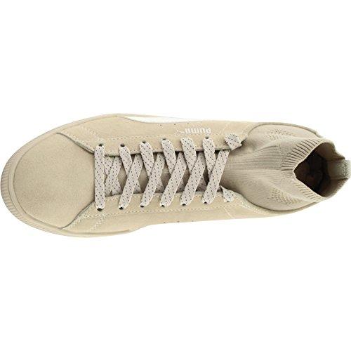 8acff374436 ... Puma Heren Suede Klassieke Sok Enkelhoge Modele Sneaker Berkenberk