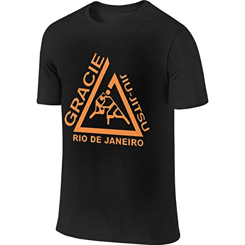 BTVE Gracie Jiu Jitsu - Juijitsu Leisure Walk Black Shirts 36