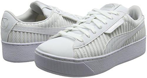White Puma Para Ep White Platform Mujer Vikky puma Q2 puma Blanco Zapatillas POP1qRrx