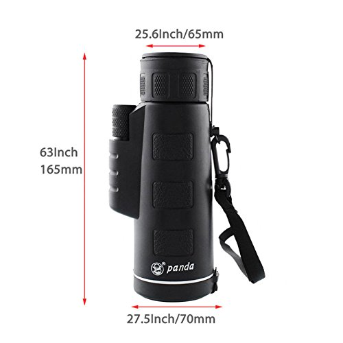 Travel Gadget Animal Seeing Monocular One Hand Operate Discovery Camping Outdoor Accessories Jungle Learning Equipment Nature Bird Life Seeing Support Day, Night NTR43