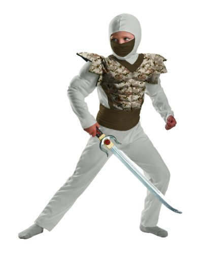 Desert Camo Ninja Child 10-12 Costume Item