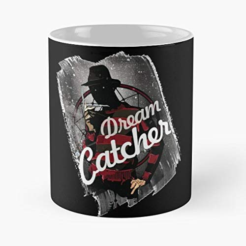 Dreams Dream Catcher Fred Horror - 11 Oz Coffee Mugs Ceramic The Best Gift For Holidays, Item Use Daily.c (Glow In The Dark Nightmare Freddy Pop)