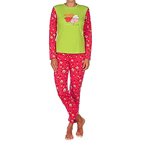 Cucuc - Pijama mujer rojo m