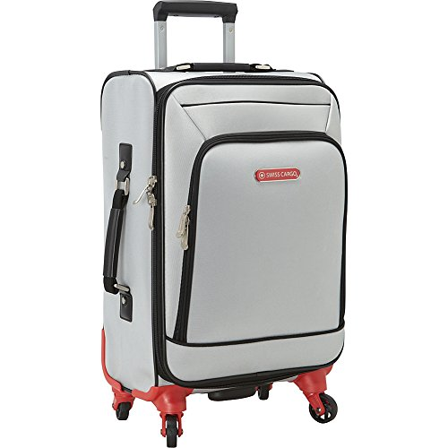 swiss-cargo-petra-21-spinner-luggage-silver-black