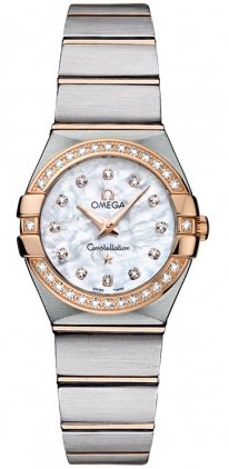 Omega Constellation Mini Diamond Ladies Watch 12325246055001